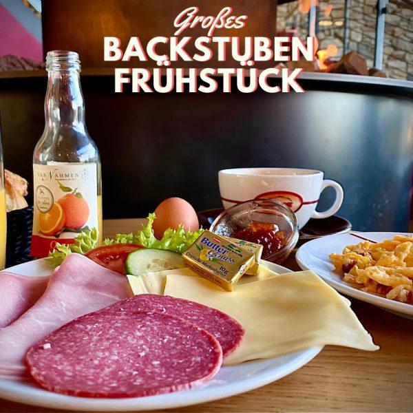 Backstubenfrühstück